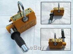 1000KG Heavy Duty Permanent Magnetic Lifter 1 Ton Lifting Magnet Hoist 1T