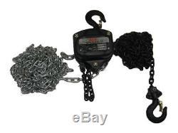 10 Ton 10 Metre Chain Hoist Block 10000KG 10T 10M Lift Tackle Brake Manual