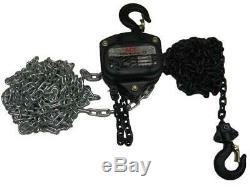 10 Ton 3 Metre Chain Hoist Block 10000KG 10T 3M Lift Tackle Brake Manual