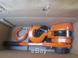 1.6 Ton Lever Hoist Pull Lift 1600KG Winch Lever Hoist Chain Hoist 1.5M Lift