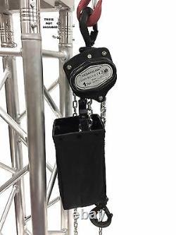 1 Ton 2000 LB Hand Chain Block Manual Hand Hoist with 26' Lift DJ Trussing Truss