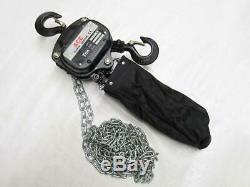 1 Ton 6 Metre Chain Hoist Block With Chain Bag 1000KG 1T 6M Lift Tackle Brake