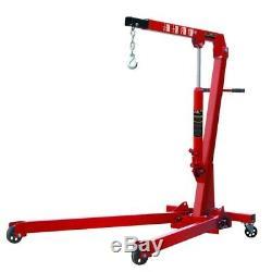 1 Ton Professional Folding Engine Crane / Hoist / Lift Hight Quality Heavy Duty