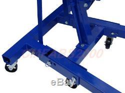 2T 2 T Ton Tonne Folding Engine Crane Hoist Lift Stand Heavy Duty Euro Spec