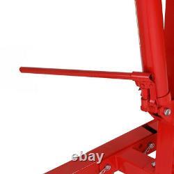 2Ton Tonne Adjustable Folding Hydraulic Engine Crane Stand Hoist Lifting withWheel