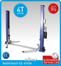 2 POST LIFT CAR / VEHICLE RAMP/ HOIST 4 TON, 4000Kg, NEW TWO POSTER