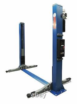 2 Post Lift / Car Vehicle Ramp Hoist 3.5 Ton, Two Post / Single Point Release