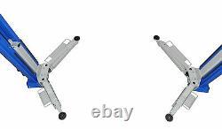 2 Post Lift / Car Vehicle Ramp Hoist 4.0 Ton, Two Post Clear Floor