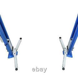 2 Post Lift / Car Vehicle Ramp Hoist 5.5 Ton, Two Post Clear Floor, Baseless
