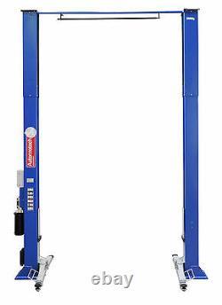 2 Post Lift / Car Vehicle Ramp Hoist 5 Ton, Two Post Clear Floor, Baseless