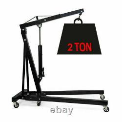 2 Ton Professional Folding Engine Crane / Hoist / Lift