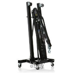 2 Ton Professional Folding Engine Crane Hoist Lift Mechanic Hydraulic Foldable