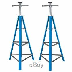 2 Ton Tri-Pod Under Hoist Stand 53 80 Support Hoist Lift Floor Car Stand x2