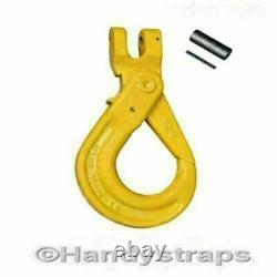 2m x 4 Leg x 7mm Self Locking Hooks Lifting Chain Sling 3.15ton Shortners Rated