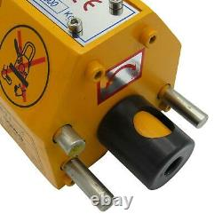 300KG Heavy Duty Permanent Magnetic Lifter 0.3 Ton Lifting Magnet Hoist 0.3T