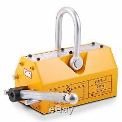 300KG Heavy Duty Permanent Magnetic Lifter 0.3 Ton Lifting Magnet Hoist UK