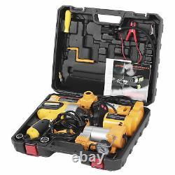 3 Ton Electric Jack Hoist Floor Stand 170420mm Car Tire Wheel Change Repair