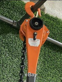 3 Ton Lever Block Chain Hoist Ratchet Type Comealong Puller Lifter