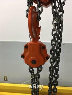 5 TON JET Chain Fall Hoist 10ft Lift Triple Spur Gear L-90 Series 101550