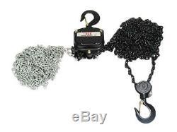 5 Ton 3 Metre Chain Hoist Block 5000KG 5T 3M Lift Tackle Brake Manual