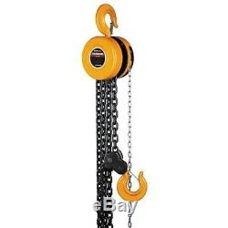 5 Ton Hand Overhead Engine Equipment Chain Hoist Lift Fall Manual
