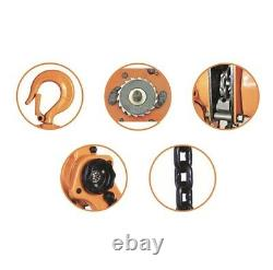 6 Ton 1.5 Mtr Ratcheting Lever Block Chain Hoist Puller Pulley E600 @US