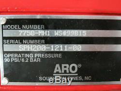 ARO 7758-MH1 1/2 Ton 1000LB Air Pneumatic Chain Hoist 9' Lift