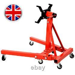 Adjust 0.9 T Ton Tonne Engine Crane Stand Hoist lift Hydraulic Folding