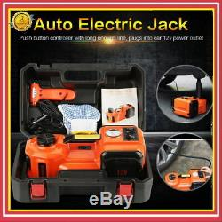 Auto Electric Hydraulic Bottle Jack 5 Ton Automotive Shop Axle Jack Hoist Lift