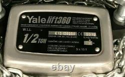 Brand New Yale Lift360 Gantry Manual Crane Hoist 1/2 ton