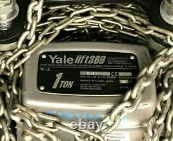 Brand New Yale Lift360 Gantry Manual Crane Hoist 1 ton
