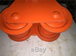 CE BB MPN 258 Heavy Duty Industrial 3 TON I Beam Trolley Tool Hoist Hanger