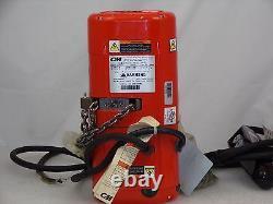 CM 2100 Shopstar 1/4 500 lb. Ton Hoist 10' Lift 24 fpm 460 Volt 3 Phase
