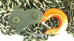 CM 2214 Manual Chain Hoist 3 TON 6000 LBS 20' Lift Low Headroom 65 Lbs Force