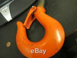 CM 40607 Steel 6 Ton Hook 640-132 646 201b