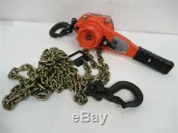 CM BAN07510, 3/4 Ton Bandit Lever Chain Hoist, 10' Lift