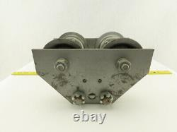 CM Hoist Lodestar 1 Ton I-Beam Push Pull Crane Hoist Trolley 3 4-1/2 Flange
