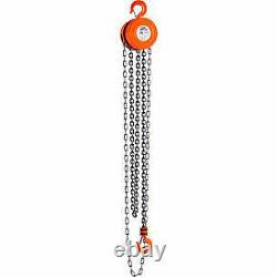 CM Series 622 Hand Chain Hoist, 1 Ton Capacity, 15Ft. Lift 2210A 1 Each