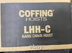 Cmco Coffing Lhh Hand Chain Hoist 1/2 Ton Capacity 10 Ft Lift