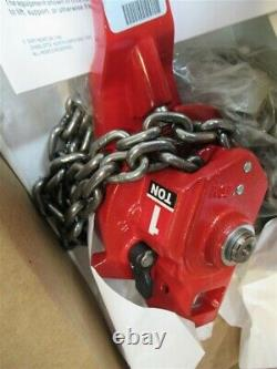 Coffing 05330W, 1 Ton RA20 Ratchet Lever Chain Hoist 5' Lift Made in USA