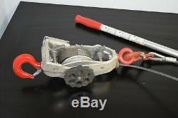 Coffing 2-ton Cable Ratchet Lever Hoist Part Number C404WNB