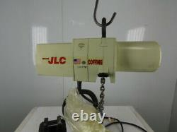 Coffing JLC0516 1/4 Ton 16 FPM 12' Lift Electric Chain Hoist 460V 3Ph