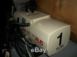 Coffing Jlc Jlc2016 Electric Chain Hoist 1 Ton 16 Fpm 1hp 110/115v 1ph (or51)
