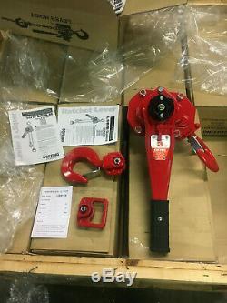 Coffing LSB Ratchet Lever Chain Hoist 3 Ton No Chain L5B-6000B