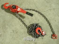 Coffing LSB Series Ratchet Lever Chain Hoist 3 Ton Capacity 20 Ft. Lift 09443W