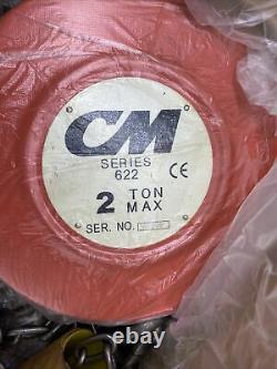 Columbus McKinnon Series 622 2 Ton Manual Chain Hoist Lift - 20 Lift