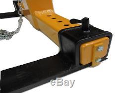 Crane Fork Self Leveling 2T (Adjusting Pallet Balancing Lifting Two Ton Tonne)