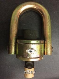 Crosby 1016969 HR125 Hoist Ring 10000 Lb WLL 1X4.0, 5 Ton Rigging Lifting Eye