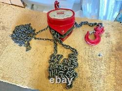 Dayton 3 Ton Hand Chain Hoist 6000 LBS Load Capacity 10 FT Lift 1VW61 Come Along