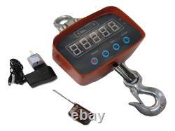 Digital Crane Scale 2T (Hanging Hook Hoist Electronic Industrial Ton)